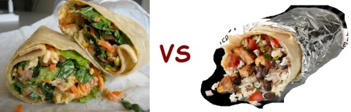 chipotle vs freshii wrap