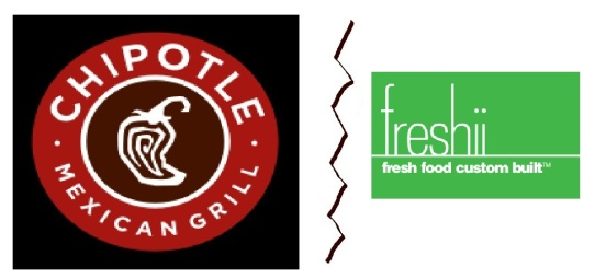 chipotle vs freshii