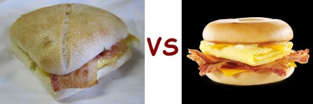 starbucks vs mcD breakfast