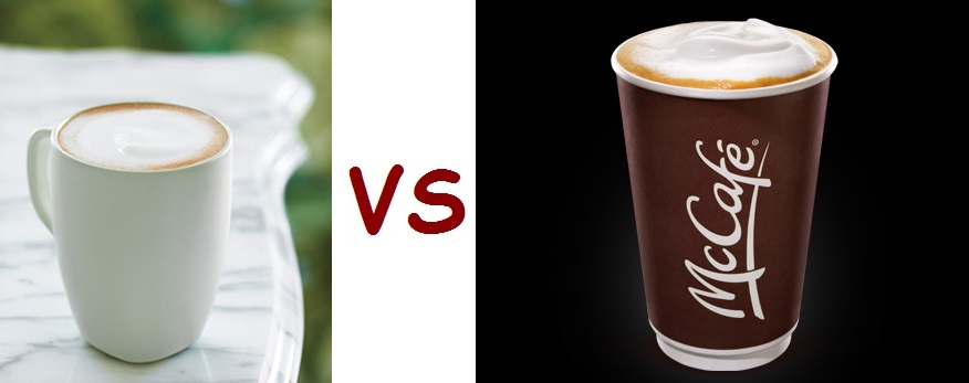 starbucks vs mcdonalds the breakfast wars The breakfast wars: how mcdonald's plans to compete with the waffle taco  use our grill to prepare many items on our breakfast menu although mcdonald's after midnight menu features a.