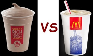 wendys vs mcD drink