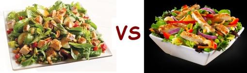 wendys vs mcD salad