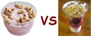 wendys vs mcD yogurt
