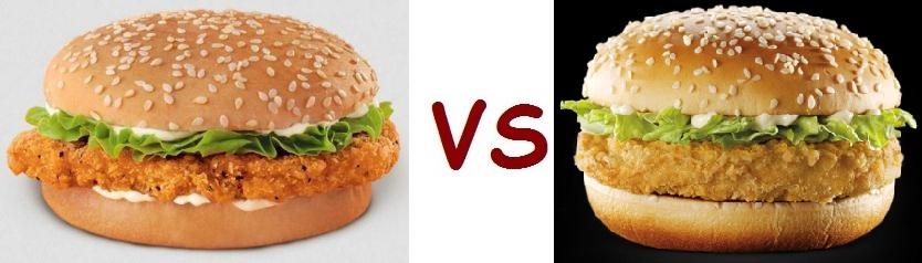 Mcdonalds filet o fish vs burger king bk big fish autos post for Jr fish and chicken