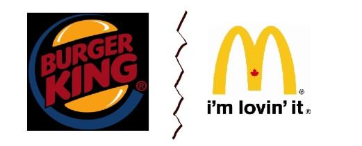 BK vs mcdonalds
