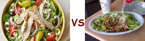 chipotle vs panera more salad