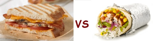 chipotle vs panera panini