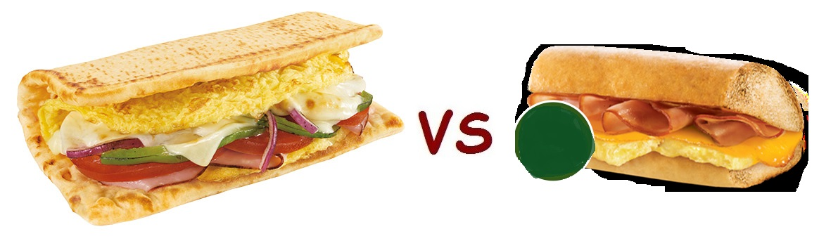 sub vs quiz breakfast. Subway's ...