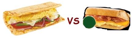 sub vs quiz breakfast