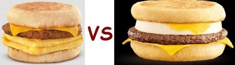 wendys vs mcD breakfast