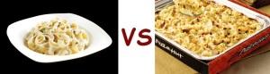 pizza pizza vs pizza hut alfredo