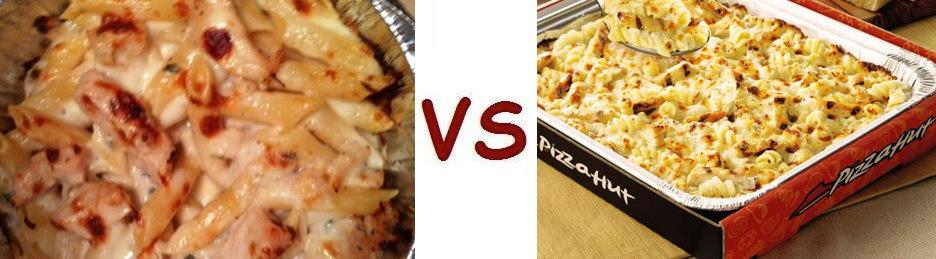 Pizza Vs Hut Alfredo