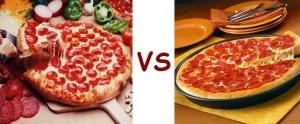 pizza pizza vs pizza hut pepperoni