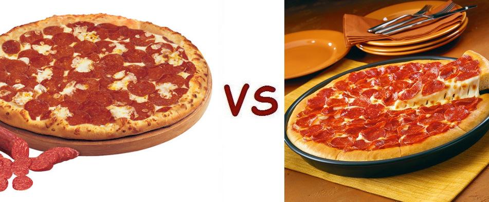 Pizza Vs Hut Pepperoni