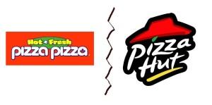 pizza pizza vs pizza hut