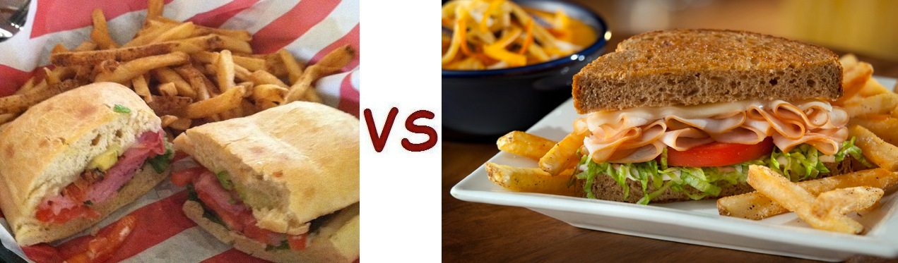 Health Facts Monday – Calories Face-Off: T G I  Friday's vs  Chili's